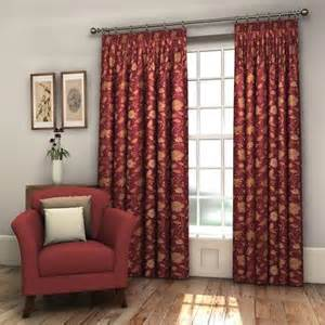 burgundy floral curtains pair burgundy red fully lined floral woven jacquard