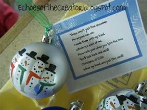 snowman ornaments homemade christmas gifts christmas