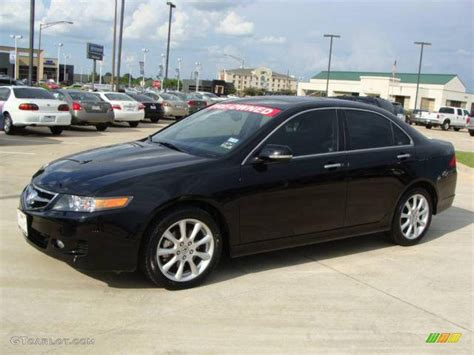 Acura tsx 2006 black