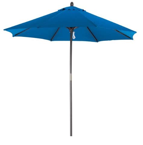 Patio Umbrella Sales Patio Umbrellas Grand Sales California Umbrella 9 Foot Stained Wood Market Umbrella Pacific Blue