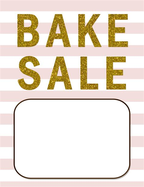 bake sale flyer template free best photos of bake sale template microsoft word free