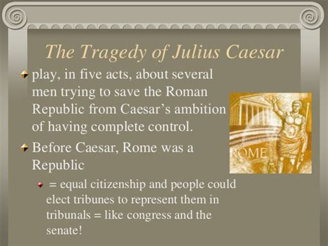 themes in julius caesar powerpoint the tragedy of julius caeser awesome power point