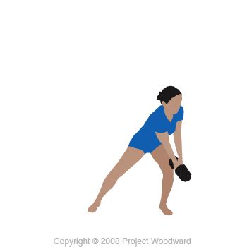 standing wood chop with dumbbell kettlebell band or cable impersonal trainers