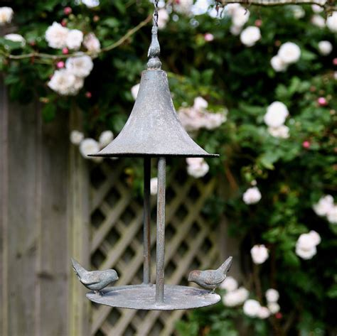 Hanging Bird Feeders Hanging Metal Bird Feeder By Lilly