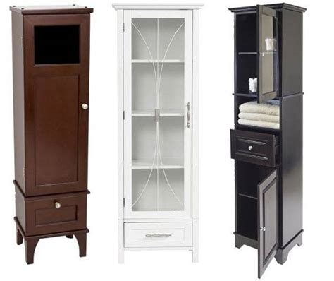 Simple Bathroom Corner Cabinet For Narrow Bathroom Design Bathroom Tower Cabinet