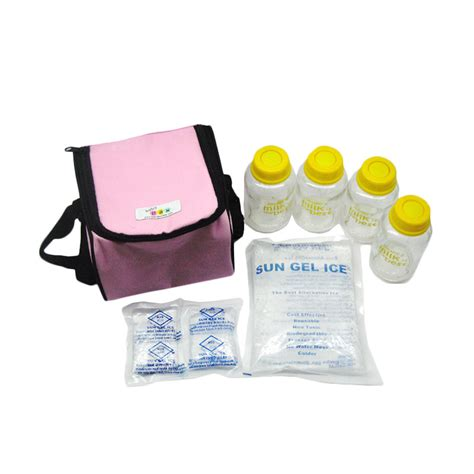 Baby Pax Cooler Bag Pink Clb006 by Jual Baby Pax Set Cooler Bag Pink Harga
