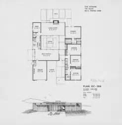 joseph eichler home plans atrium house plans on pinterest floor plans atrium
