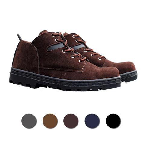 Sepatu Safety Boots 5 update sepatu safety boots high quality leather top