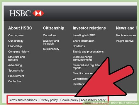 si鑒e social hsbc how to pay an hsbc card bill 9 steps with pictures