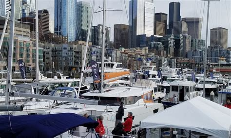 seattle boat show seattle boat show 2018 tour boatingjourney