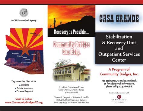 Detox That Accept Ahcccs by Casa Grande By Community Bridges Inc Cbi Issuu
