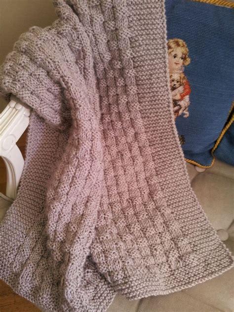 knitting pattern en español las 25 mejores ideas sobre mantas de beb 233 tejidas en