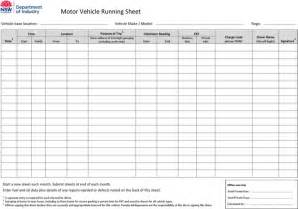 run sheet templates download free amp premium templates