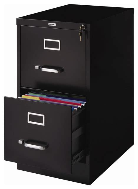2 Drawer Steel File Cabinet With Lock 2 drawer vertical filing file cabinet with lock black metal contemporary filing cabinets
