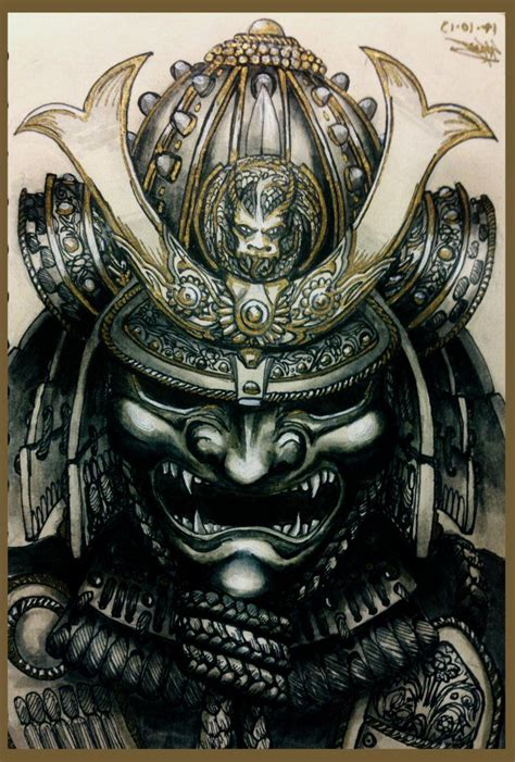 samurai warrior mask www pixshark com images galleries