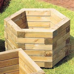 17 best ideas about wooden garden planters on