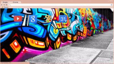 graffiti theme for google chrome graffiti chrome themes themebeta