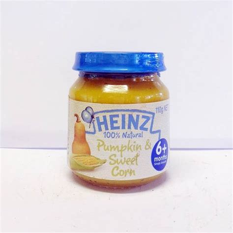 Heinz Apple Banana Cereal 110 Gr heinz 100 pumpkin sweet corn 110g khasert
