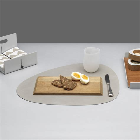 kitchen table mat buy lind dna table mat curve grey amara