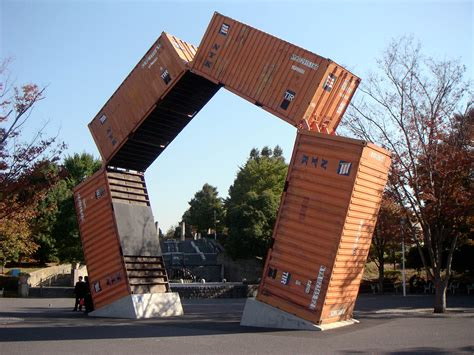 Container Modification Dubai by Shipping Container Reaches New Heights With Calgary Statue