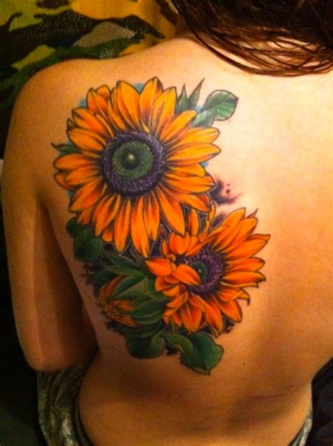 sunflower sleeve tattoo 125 sunflower to brighten your day