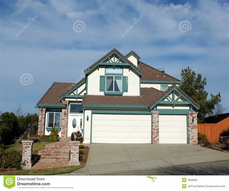 1990s house 1990 s home in northern california royalty free stock