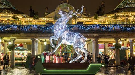 top ten london christmas light displays london