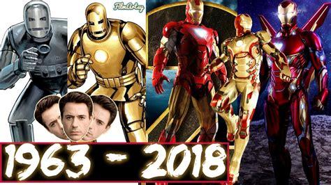 marvel evolution iron man