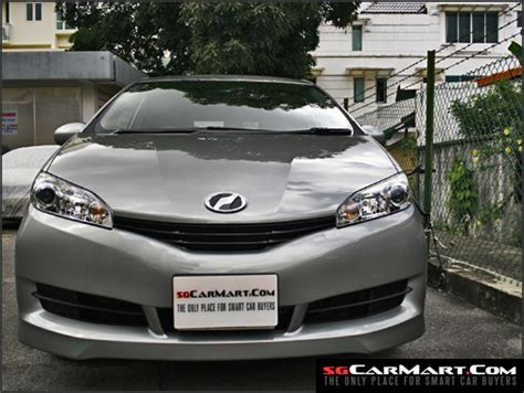 Toyota Wish Price In Singapore New Toyota Wish Photos Pictures Singapore Stcars