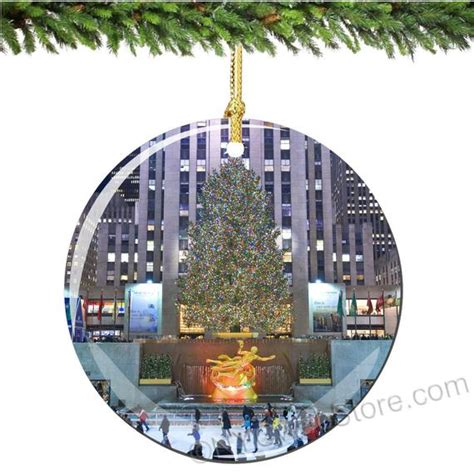 rockefeller center ball christmas ornaments rockefeller center ornament decoration