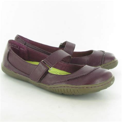 hush puppies flats hush puppies leather emin flat bar shoes in prune