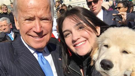 biden puppy joe biden meets joe biden the puppy in washington d c today