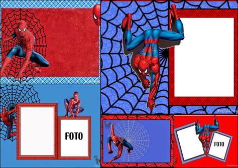 printable birthday card spiderman spiderman free printable invitations cards or photo