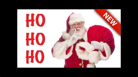 santa claus meet santa ho ho ho merry christmas youtube