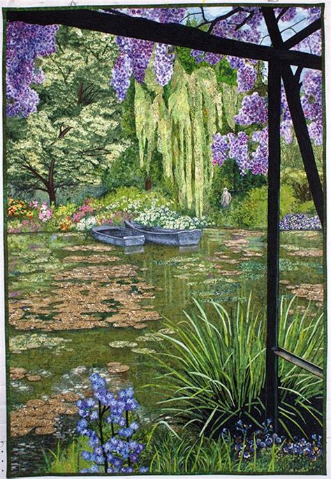 Landscape Fabric In Pond 713 Best Images About Quilts And Textile On