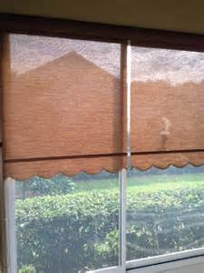 solar roller shades on lanai tropical patio orlando by budget blinds clermont