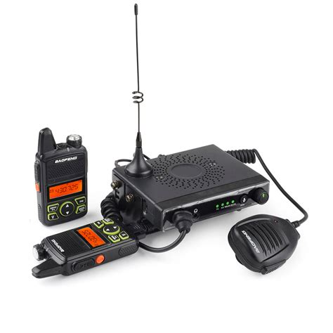 baofeng mobile radio baofeng mini 1 mobile car radio 15w uhf 20ch fm with bf t1