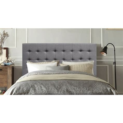 Grey Wooden King Size Bed by Amelia Wooden King Bed In Grey Fabric Linen Buy