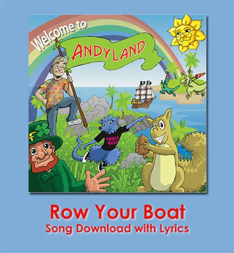 row row row your boat lyrics row your boat song download with lyrics