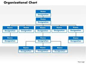 Powerpoint Organizational Chart Template by Organizational Chart Powerpoint Presentation Slide Template