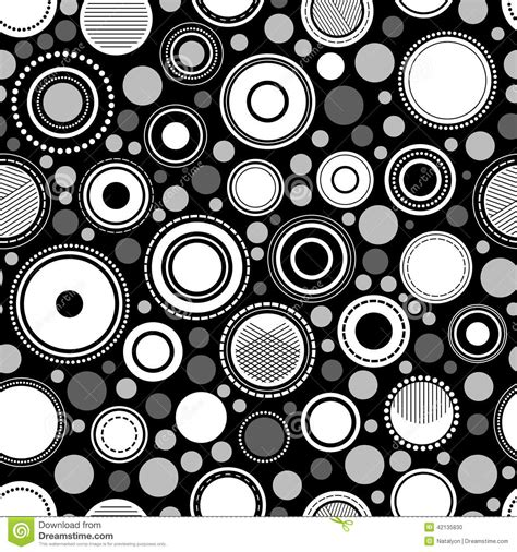 geometric patterns black and white circle black and white abstract geometric circles seamless