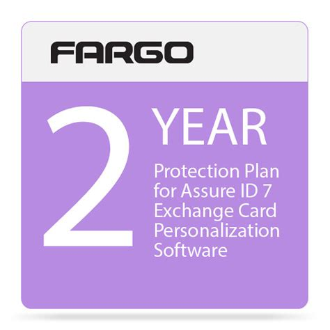 id card design software fargo fargo protection plan for assure id 7 exchange card 86459 b h