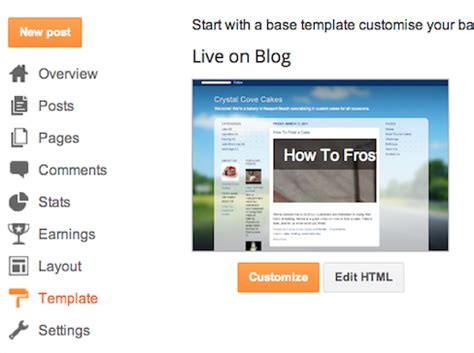 create your own template blogger help
