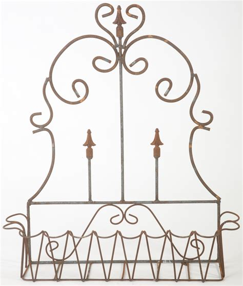 Wrought Iron 33 Quot Spear Fence Window Box Wall Planter Wrought Iron Wall Planters