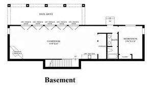 Design Your Own Basement Floor Plans Norris Canyon Estates The Folsom Home Design