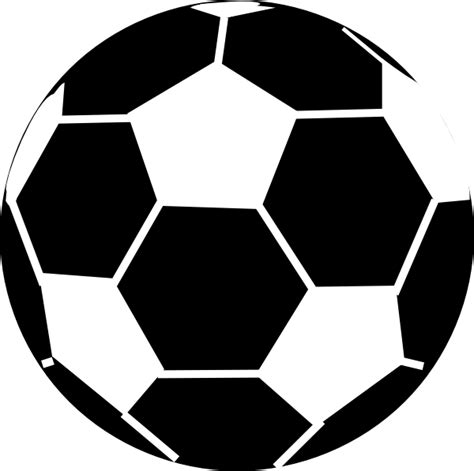 football ball silhouette vector soccer ball silhouette clipart best