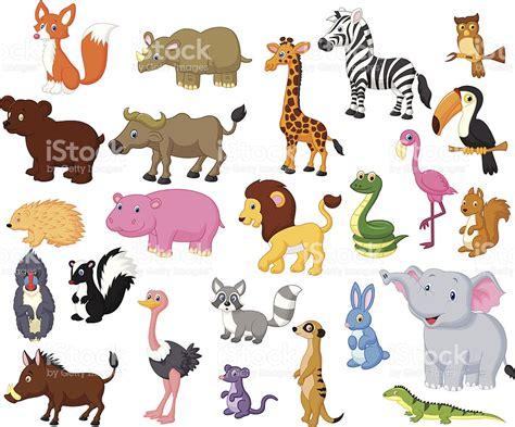 imagenes de animales vertebrados animados colecci 243 n de dibujos animados de animales salvajes
