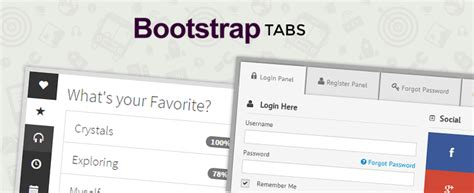 Best Ease Bootstrap Tabs Current Year Formget Bootstrap Tab Template
