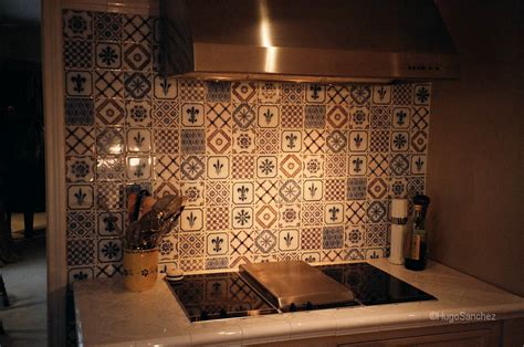 hand painted tiles for kitchen backsplash hand painted tiles c 233 ramiques hugo sanchez inc