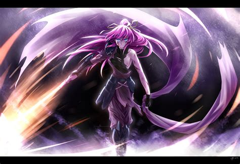 wallpaper anime magic there will be fire full hd wallpaper and background image